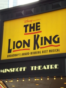 Disney's The Lion King - Broadway Cast