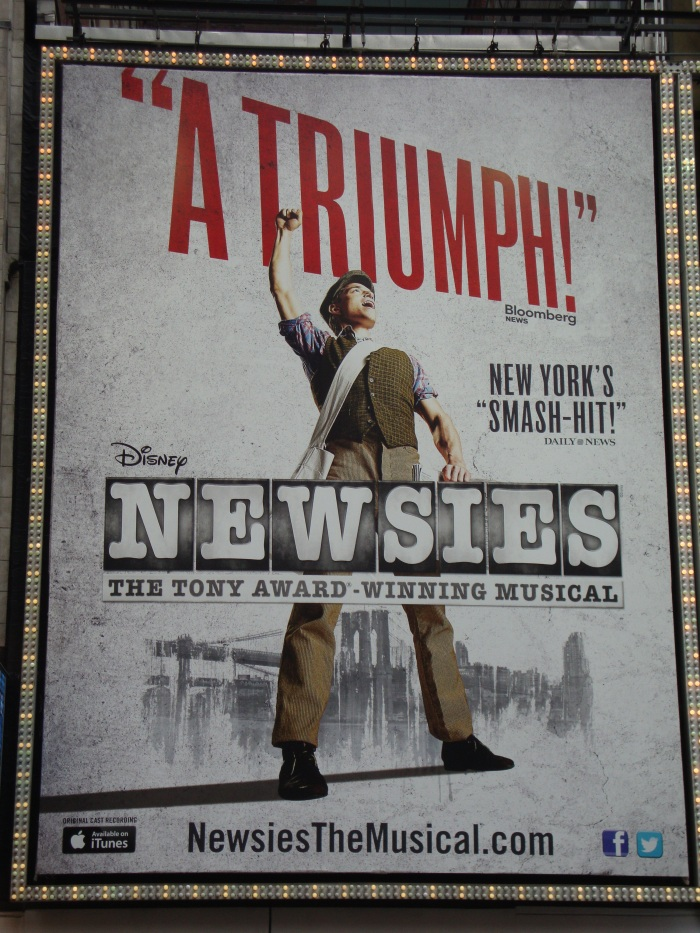 Newsies (By New Amsterdam Theatre)