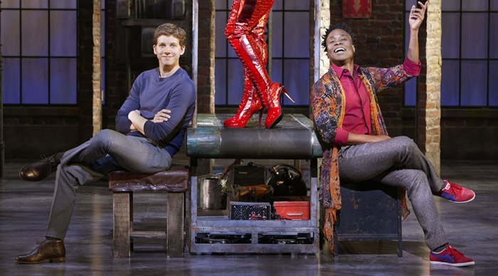 Kinky Boots - Stark Sands and Billy Porter