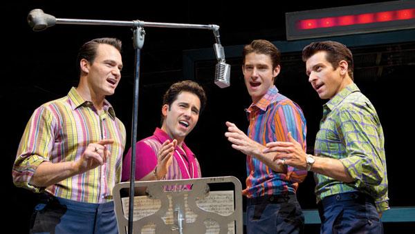 Jersey Boys - Rehearsal