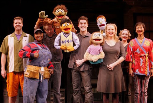 Avenue Q Christmas Eve.Avenue Q Off Broadway Cast Ludus Nyc On Broadway
