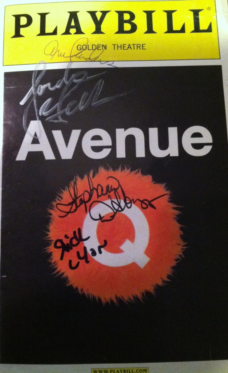 Playbill Throwback: Avenue Q