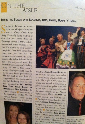 Avenue Q Inside Playbill 1