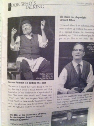 Avenue Q Inside Playbill 2