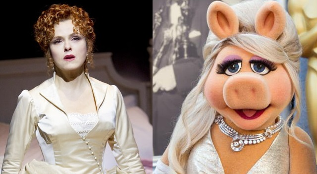 Miss Piggy as Desiree