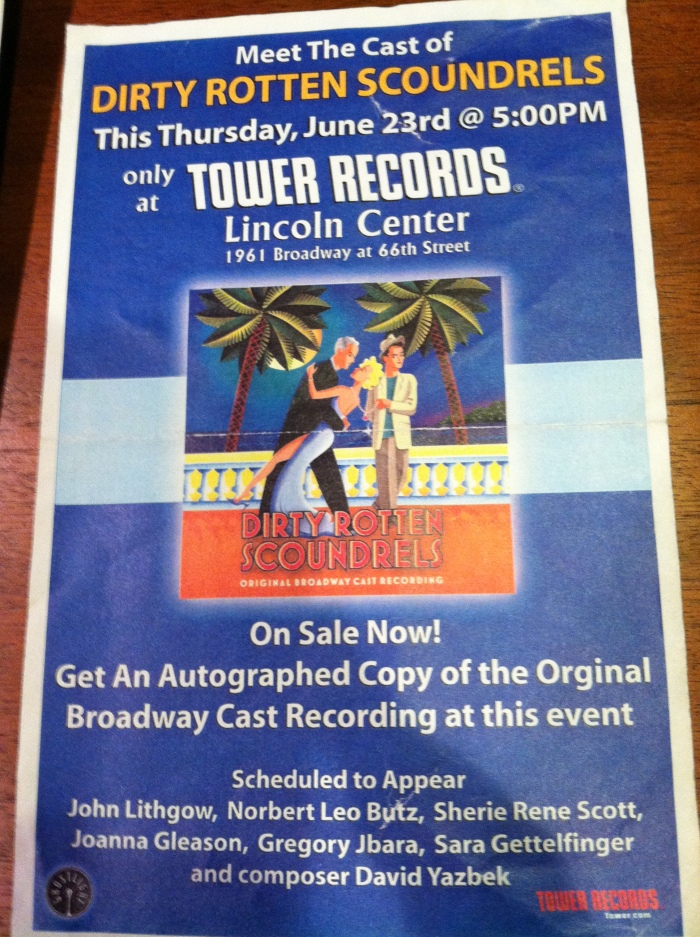 Dirty Rotten Scoundrels - Tower Records Signing