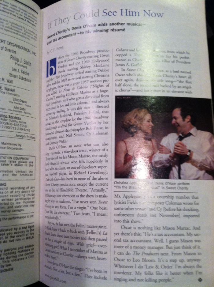 Dirty Rotten Scoundrels - Inside the Playbill 2