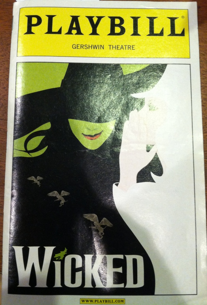 Wicked Playbill