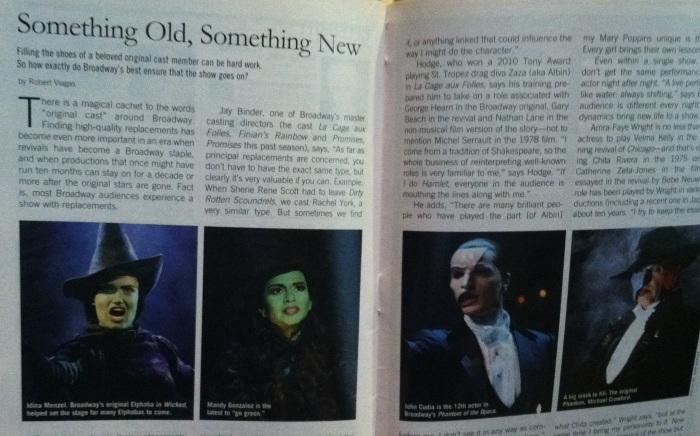 "A Little Night Music - Playbill - ""Something Old, Something New"""