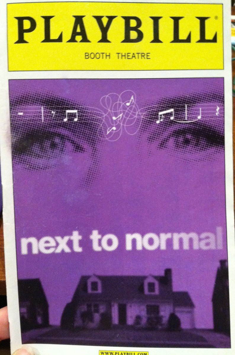 Playbill Throwback: Next to Normal