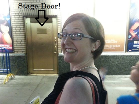 Matilda Stage Door