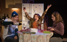 Oscar A.L. Cabrera as Gus Green, Charlotte Booker as Rebecca Green, Emma Meltzer as Lia Vaughn