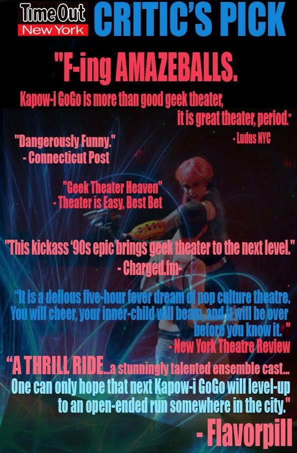 Kapow-i GoGo - Critics Poster