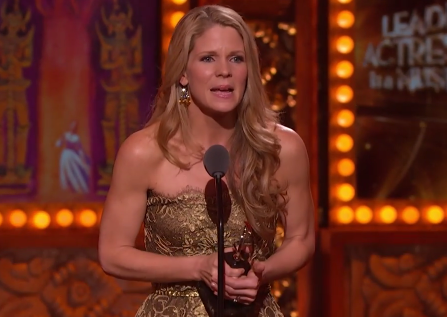 Kelli O'Hara - 2015 Tony Awards