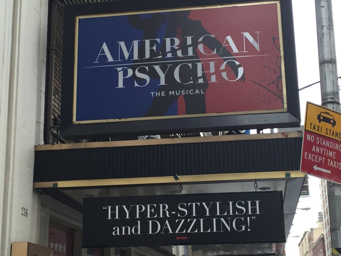 American Psycho - Marquee