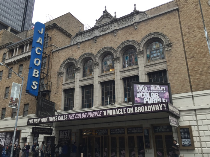 The Color Purple - Marquee