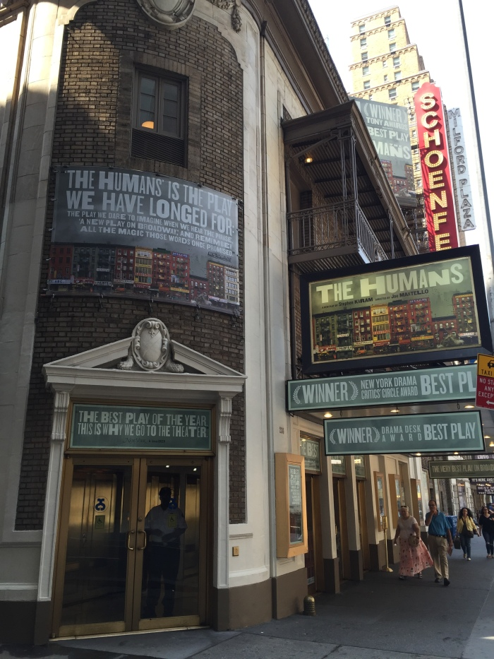 The Humans - Gerald Schoenfeld Theatre