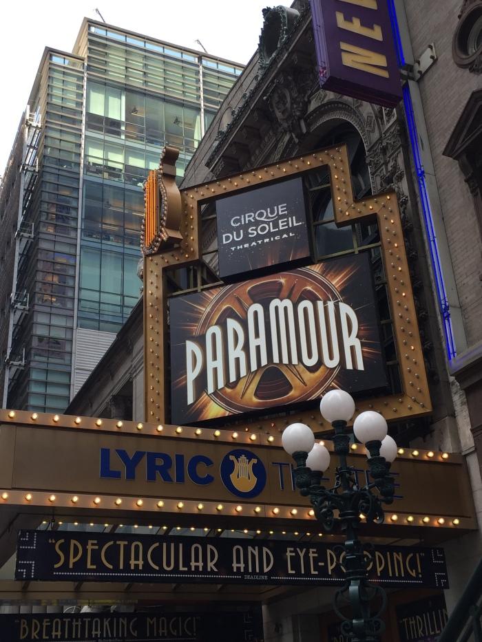 Cirque du Soleil Paramour - Marquee