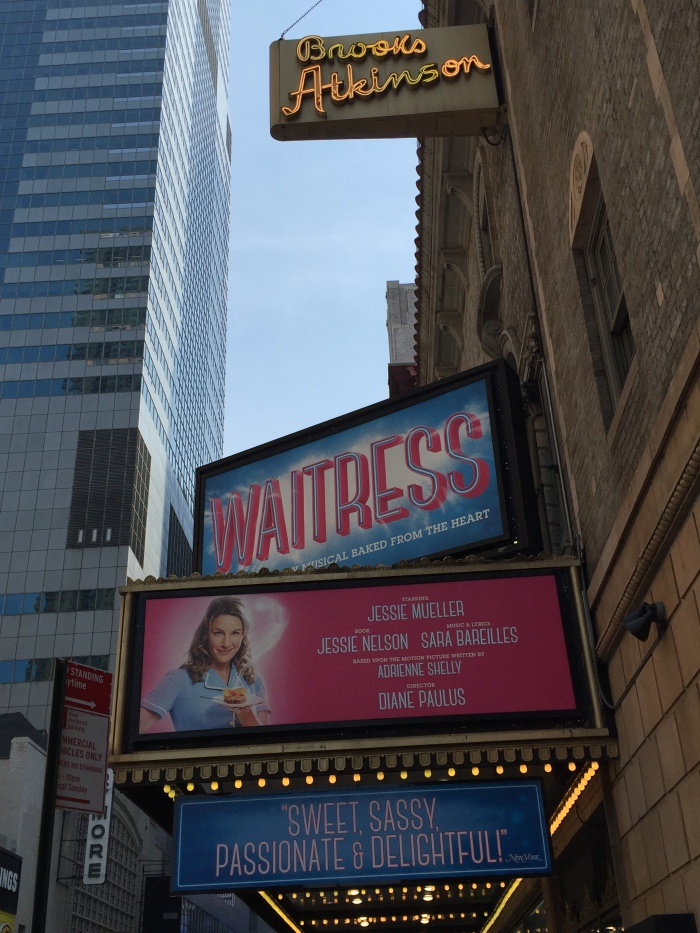 Waitress - Marquee - Broadway Cast