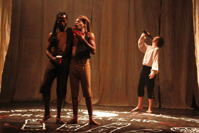 Phantasmagoria - Photo by Theo Cote - Equiano, Demetrius Stewart, Andrew Lynch