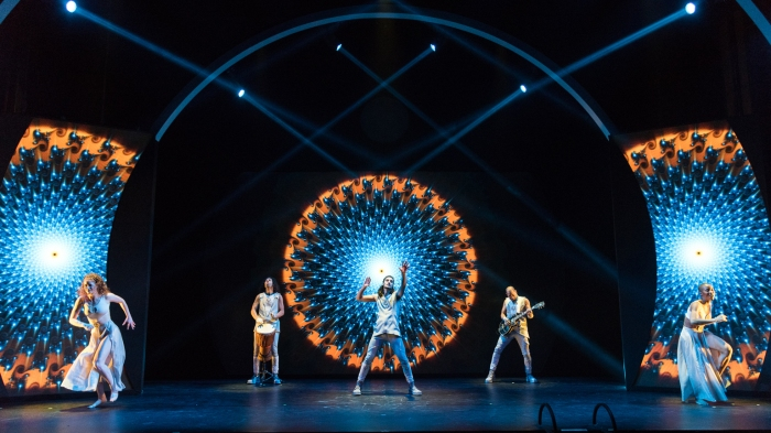 The Portal - Photo by Russ Rowland - Jessica Aronoff, Gilly Gonzalez, Billy Lewis Jr., Paul Casanova, Marija Juliette Abney